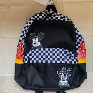 NWT Vans Disney Mickey Mouse Minnie Mouse Backpack